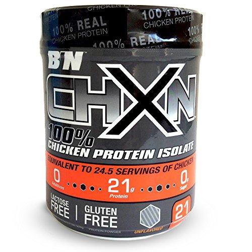 BIN BarnDad's 100% CHXN Chicken Protein Isolate, Unflavored, 504g, Cream