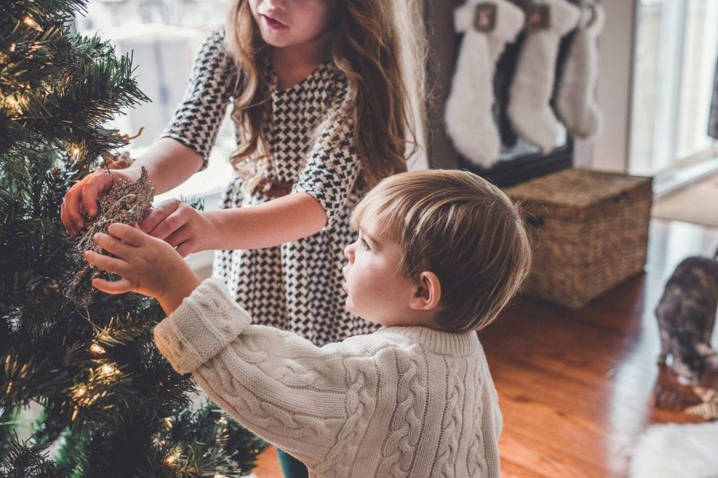 Nut free Christmas tree kids
