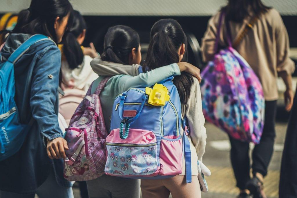 School safe snacks kids walking