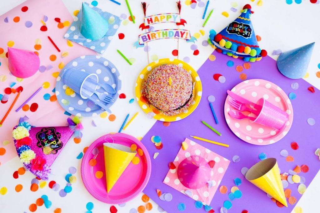 Nut free birthday treats decorations