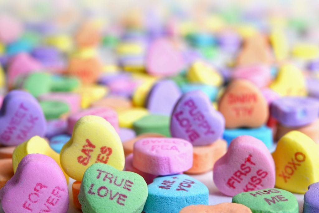 nut free valentine's candy hearts